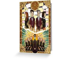 The Time of the Doctor Greeting Card