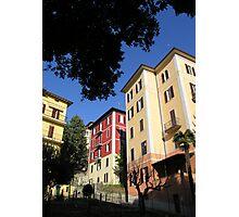 Perugian apartment blocks. Photographic Print