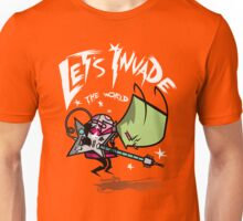 Invade the World Unisex T-Shirt