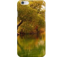 Sinton Pond in Fall iPhone Case/Skin