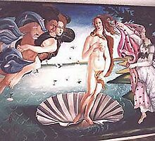 Birth of Venus - Sandro Botticelli by Lestergary