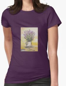 Fresh lavender Womens Fitted T-Shirt