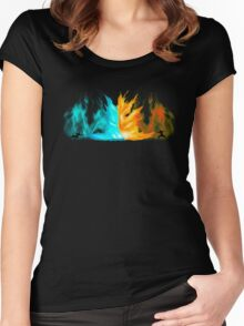 Avatar - Agni Kai Women's Fitted Scoop T-Shirt