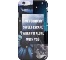 Disconnected Lyrics 5sos iPhone Case/Skin