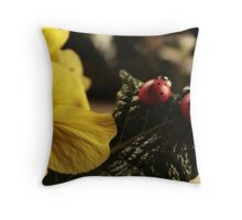 Primrose fun Throw Pillow