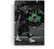 Paddy's Day in NYC Canvas Print