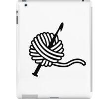 Crochet wool needle iPad Case/Skin