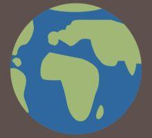 Globe Earth One Piece - Short Sleeve