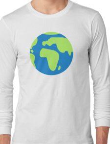 Globe Earth Long Sleeve T-Shirt