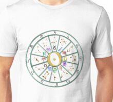 Zodiac Wheel Unisex T-Shirt
