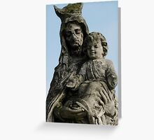 Cemetery Mother Greeting Card