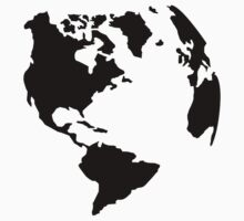 Globe world map Kids Clothes