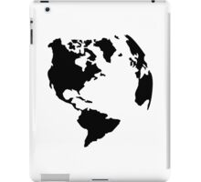 Globe world map iPad Case/Skin