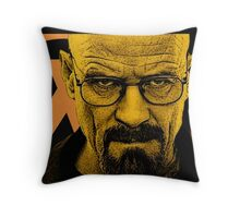 Breaking Half Throw Pillow