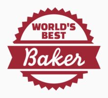 World's best baker by Designzz