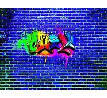 Chill graffiti Photographic Print