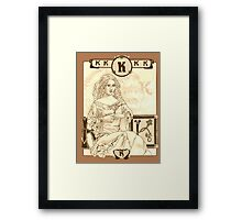 King Kong Framed Print