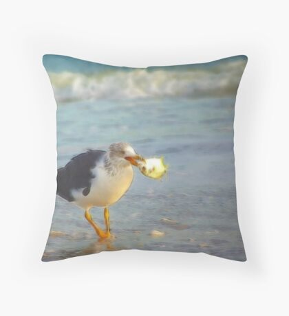 Successful Outing Throw Pillow