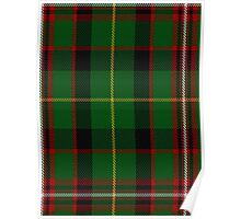 00413 George Brown Tartan Poster