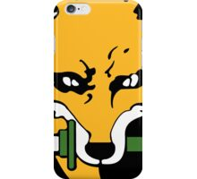 FOX HOUND Art iPhone Case/Skin