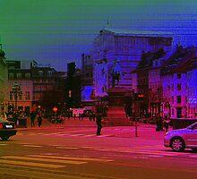 Copenhagen in High Contrast by gayle hoskins-nestor