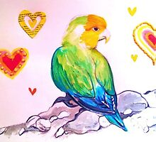 Little Love Bird  by jonkania