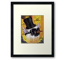 Frostys Lament Framed Print