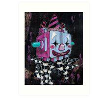 OctoBox Art Print