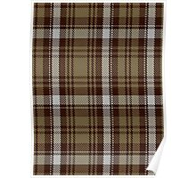 00412 Brown Watch Dress Tartan  Poster