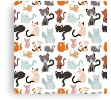 You've Cat to be Kitten Me Right Meow Canvas Print