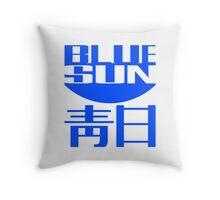 The Original Blue Sun Corporation Logo Throw Pillow
