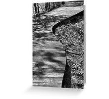 The Winding Path Greeting Card