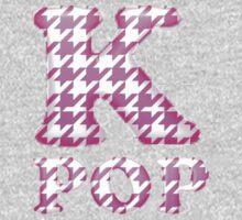 KPOP - PINK HOUNDSTOOTH Kids Tee