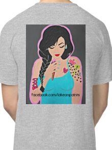 Lakeon Paints tattooed painter girl Classic T-Shirt