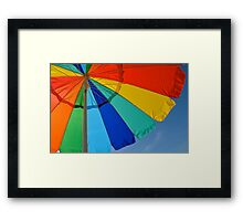 Fun in the Sum Framed Print