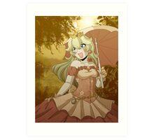 Princess Peach Art Print