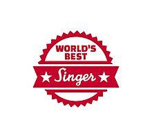 World's best Singer Photographic Print