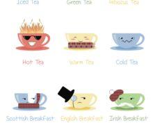Tea Chart Sticker
