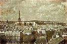 Faded Memories-Paris by Jeff Clark
