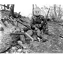 LEGO War Photographic Print