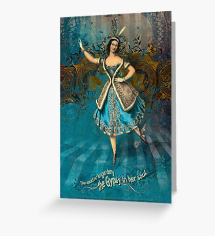 Gypsy Soul Greeting Card