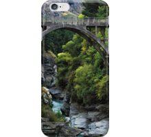 Edith Cavell Bridge, Queenstown iPhone Case/Skin