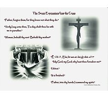 The Seven Expressions From the Cross, (page 1) Photographic Print