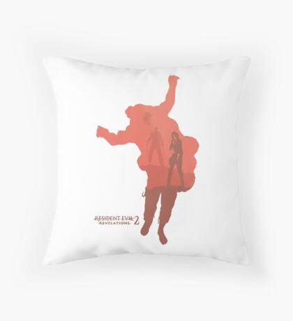 Resident Evil Revelations 2 Throw Pillow