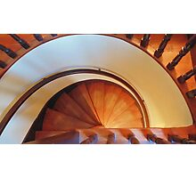 Staircase Buttonhook Photographic Print