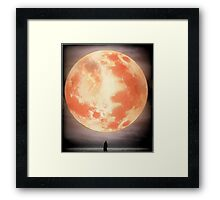 Bloodborne Moon Framed Print