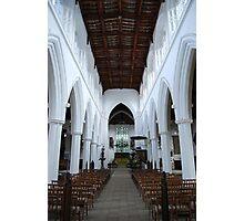 Central Aisle St John the Baptist Photographic Print
