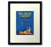 The Great Catsby Framed Print