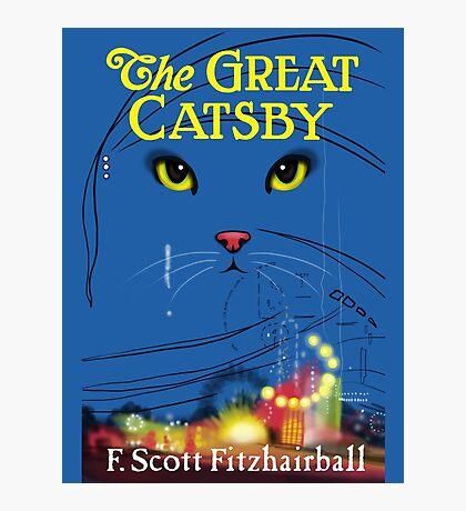The Great Catsby Photographic Print