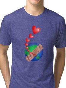 Global Awareness Tri-blend T-Shirt